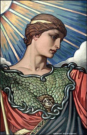 Minerva godin van de wijsheid